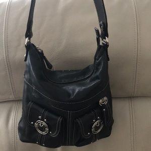 Stone Mountain leather handbag purse
